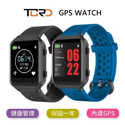★TCRD-GPS智慧運動錶(曜巖黑)★GPS心率血壓運動防水智能手錶 from 尚青購 at SHOP.COM TW