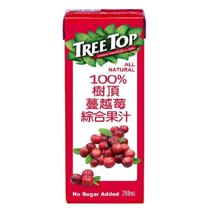 樹頂100蔓越莓綜合果汁200ml from 家樂福線上購物網 at SHOP.COM TW