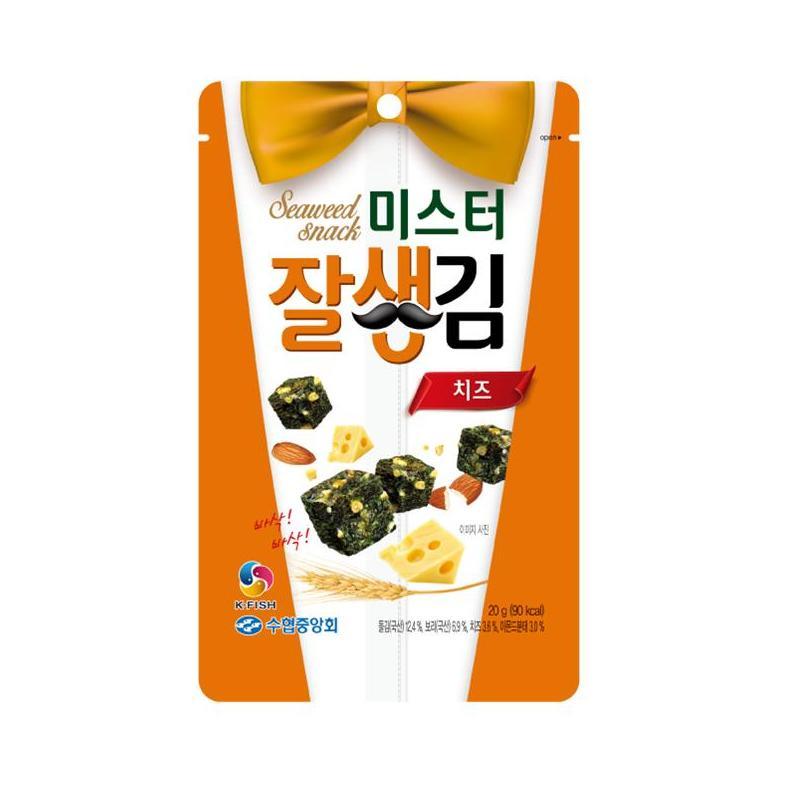 韓國水協-起司香脆海苔一口酥 from 家樂福線上購物網 at SHOP.COM TW
