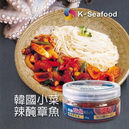 (缺貨中)韓國束草辣醃章魚小菜 낙지젓 110克 from 韓英國際 at SHOP.COM TW