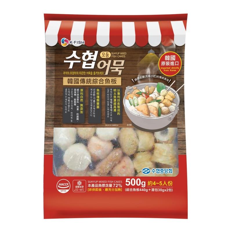 水協甜不辣湯包(4~5人份) 수협어묵탕500G from 韓英國際 at SHOP.COM TW