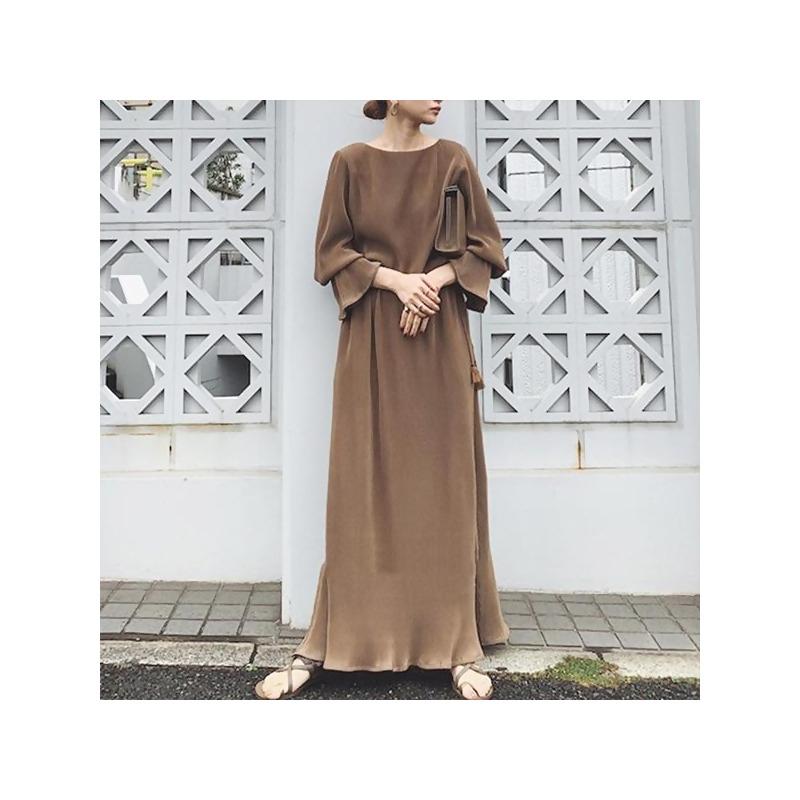 喇叭袖氣質洋裝 from MYDRESS at SHOP.COM TW