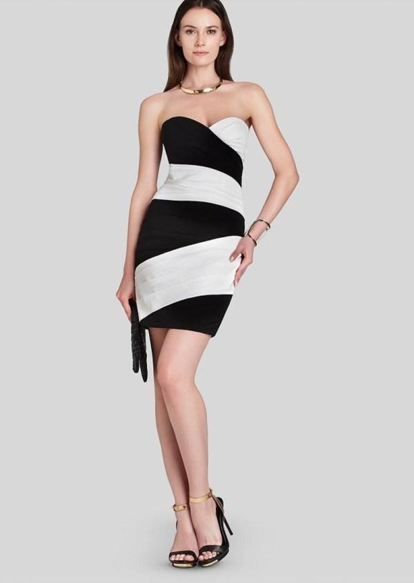Bcbg Max Azria Bcbgmaxazria Dress - Kalea Strapless Color