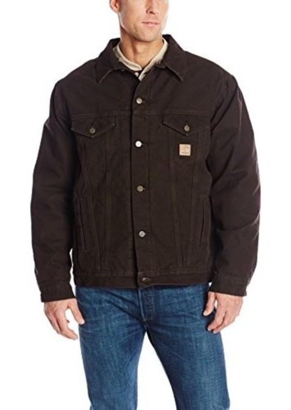 Carhartt Men' Big & Tall Sherpa Lined Sandstone