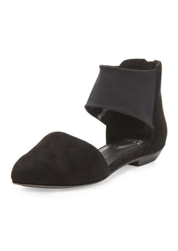 Eileen Fisher Allot Suede 'orsay Flat