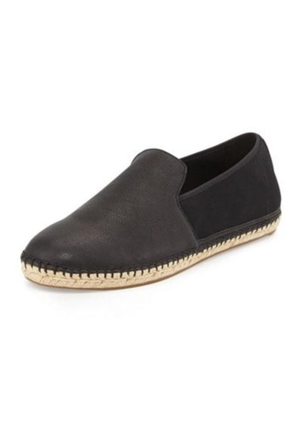 Eileen Fisher Flit Flat Leather Espadrille