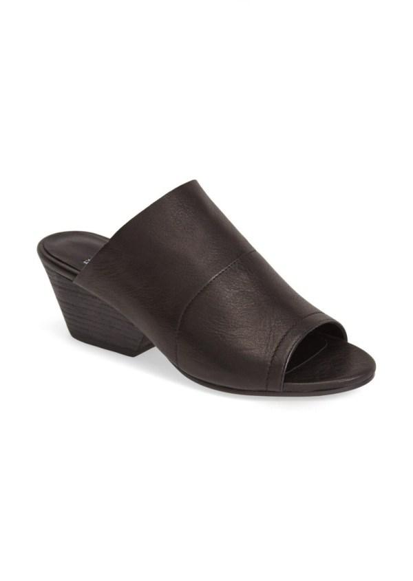Eileen Fisher 'juju' Tumbled Leather Open