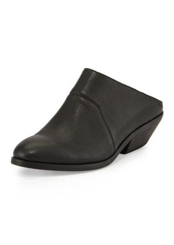 Eileen Fisher Mid-heel Leather Slip