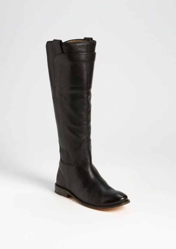 Frye 'paige' Tall Leather Riding Boot Shoes