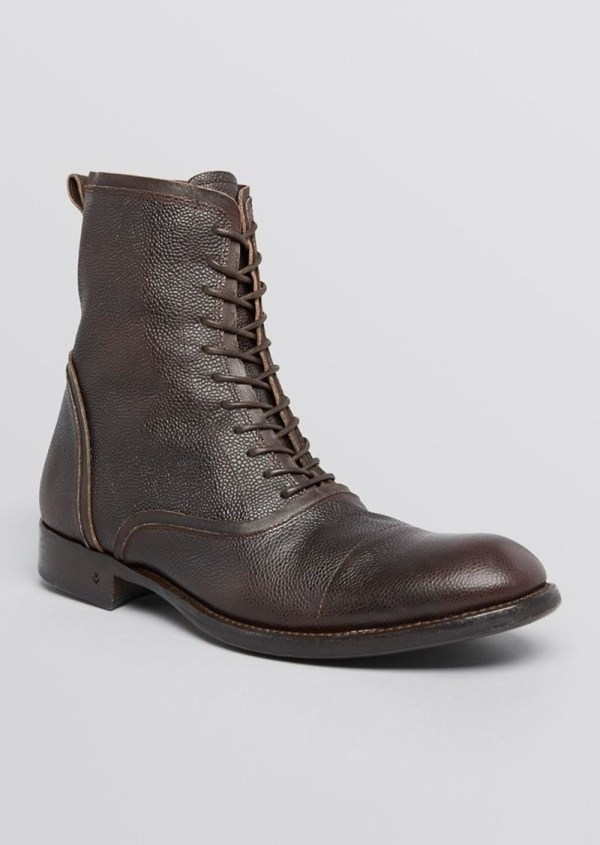 John Varvatos Collection Freeman Raw Edge Boots