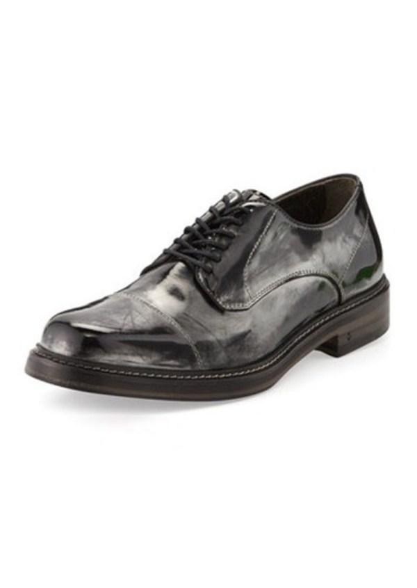 John Varvatos Patrick Metallic Derby Shoe