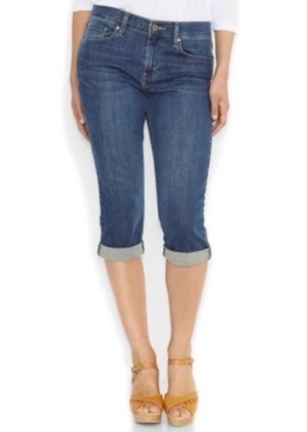 Levi' Cuffed Capri Jeans Baybreak Blue Wash