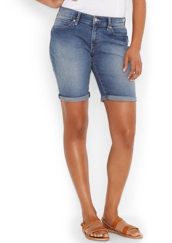 Levi' Juniors' Denim Bermuda Shorts - In Place