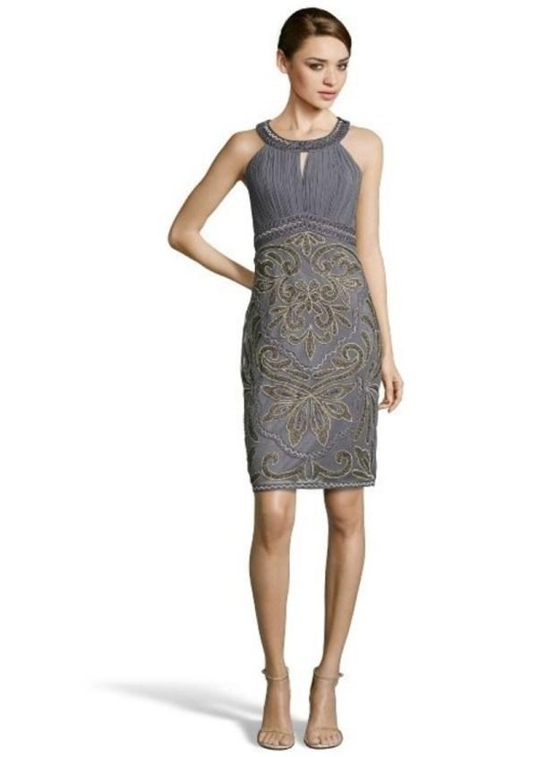 Sue Wong Halter Dress