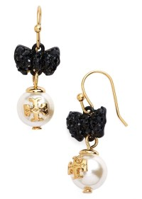 Tory Burch Tory Burch 'Evie' Faux Pearl Drop Earrings ...