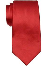 Valentino Valentino BRIGHT RED TIE