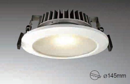 歐奇-157mm嵌燈 12W TK-A530W/S-N-B