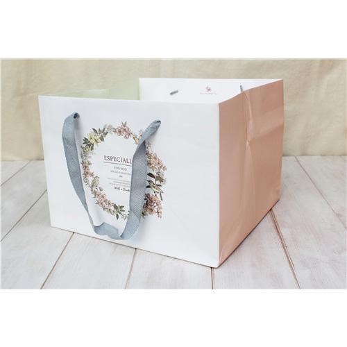 6吋手提紙袋(花語鳥)_2319103