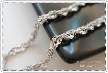 白金(鉑金)項鍊-閃閃惹人愛男生項鍊