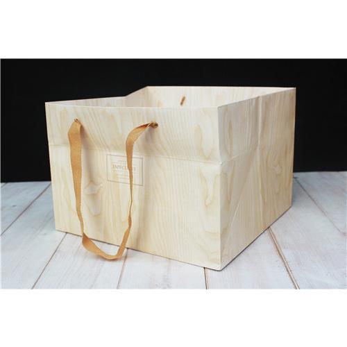 手提紙袋(6吋蛋糕木紋)_2319105