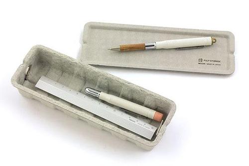 MIDORI 100%古紙製 環保材收納盒 *3色