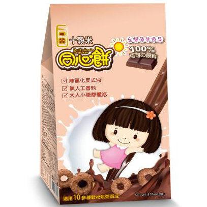 十榖米-同心餅 (可可口味) 150g (6包入)
