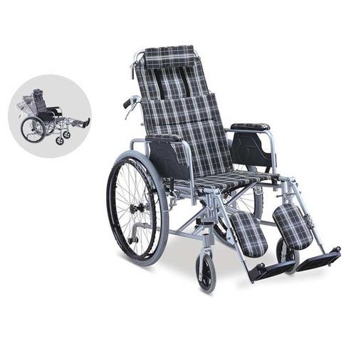 關愛醫護網店丨高背輪椅、鋁合金高背輪椅、平躺式輪椅丨