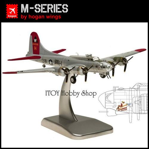 【ITOY預購】1:200《hogan》B-17G 美國陸軍航空隊 空中堡壘式 轟炸機 (限量版) #5972