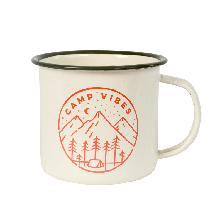 POLER | Poler Camp Vibes Mug - Slumber - Off White 髮廊野營