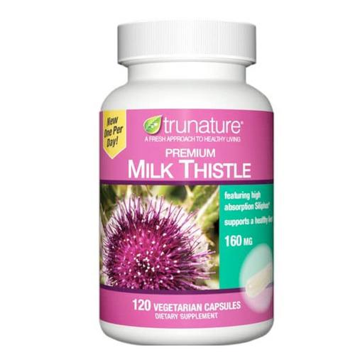 美國trunature Milk Thistle 特級護肝乳薊160毫克 120粒膠囊|香港旺角門市選購