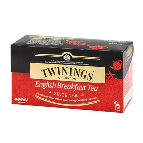 英國 TWININGS 唐寧茶 英式早餐茶 茶包 2g 25入 ENGLISH BREAKFAST TEA 2