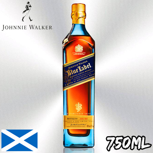 購買約翰走路藍牌750毫升|1858Wines.com 香港最優惠價格酒類及飲品網站