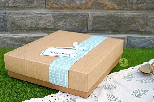 紙盒_單層禮盒牛皮壓木紋(空盒)_2入_3-652009