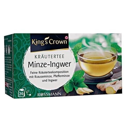 King's Crown 薄荷姜茶(20包 x 2g)
