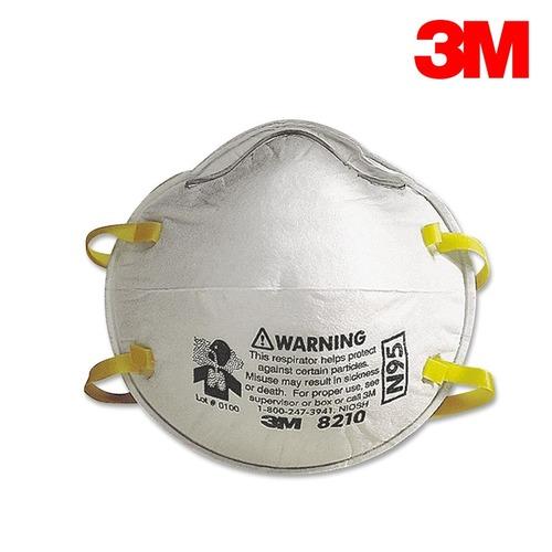 3M N95 8210口罩 20個/盒 過濾粉塵 呼吸防護/工業用 2盒免運 可7-11取貨付款