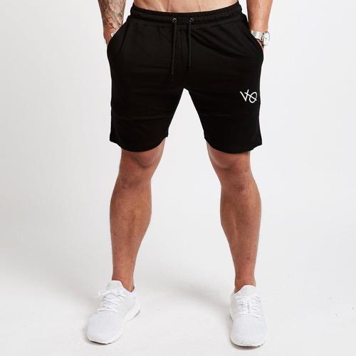 SG健身服飾 [VQ] VANQUISH 膝上運動短褲 - 黑/灰/卡其