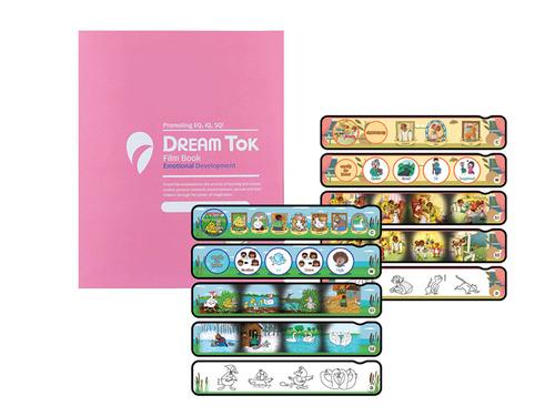 DreamTok童夢故事投影機專屬幻燈片故事書:英語童話王國3
