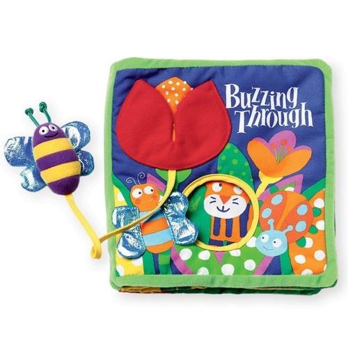 【Manhattan Toy】美國 蜜蜂嗡嗡軟布書 - 聰明媽咪婦嬰用品生活館