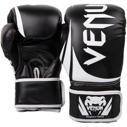 [古川小夫] MMA VENUM 黑白8oz 初學拳擊手套~VENUM訓練用拳套-8oz初級訓練優質禮物-黑白