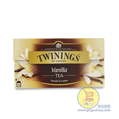 Twinings 呍喱拿紅茶包 (25茶包)