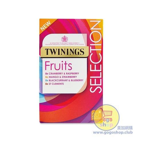 Twinings 果茶精選茶包組合 (20茶包)