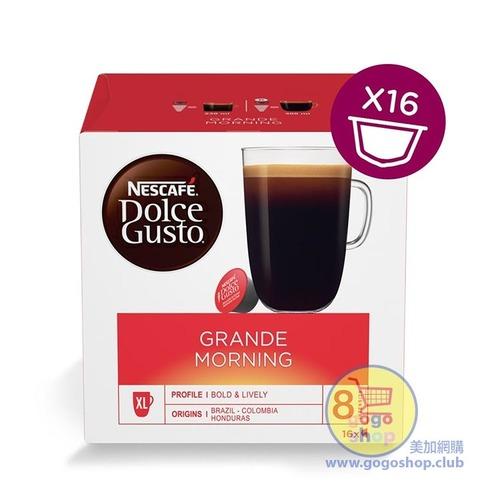 Nescafe Dolce Gusto Grande Morning 咖啡膠囊 (16 杯裝)