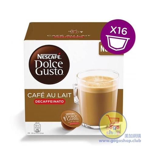 Nescafe Dolce Cafe au Lait 低因咖啡膠囊 (16 杯裝)