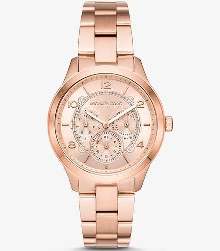 萬年鐘錶 Michael Kors MK女錶 玫瑰金女錶 MK6589