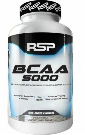 RSP 2:1:1 BCAA膠囊240粒 支鏈胺基酸