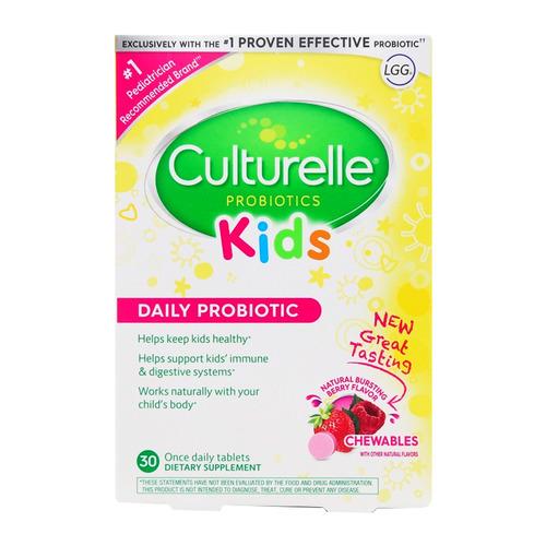Culturelle康萃樂 兒童益生菌咀嚼片 30粒