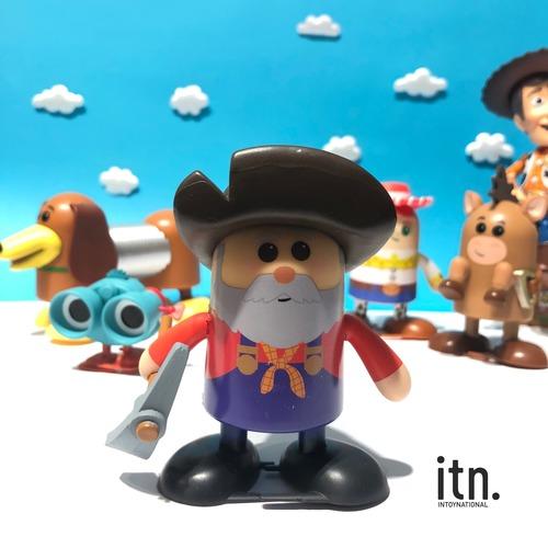 玩具總動員 Shufflerz 走路公仔 礦工邋遢彼得
