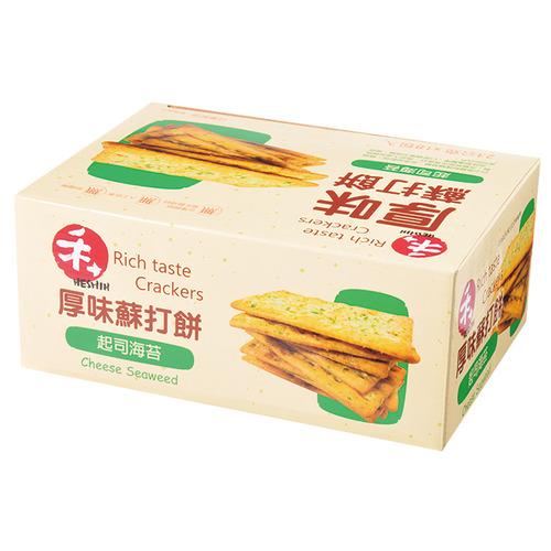 禾十厚味蘇打餅--起司海苔【喜互惠e直購】