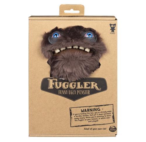 FUGGLER 放克牙寶-酷中布偶-深灰長毛