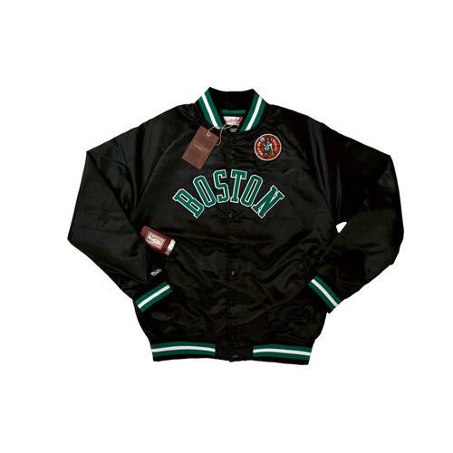 Mitchell & Ness 波士頓賽爾提克隊 緞面 外套